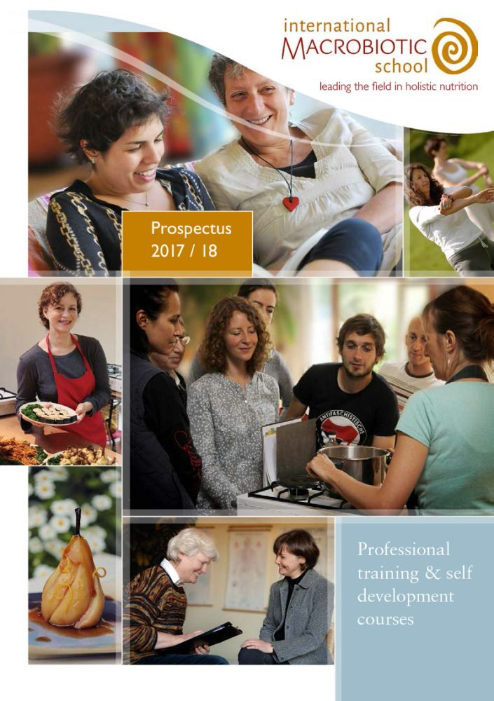 Holistic nutrition course prospectus