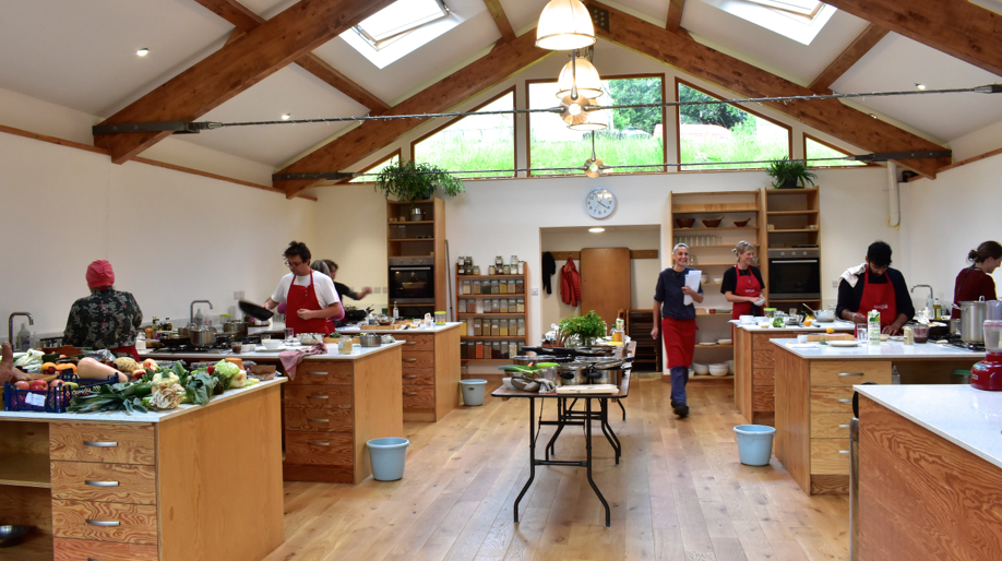 natural cooking classes in our new kitchen