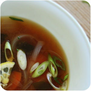 macrobiotic food blog - miso soup