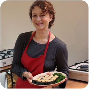 student on macrobiotic nutritional course
